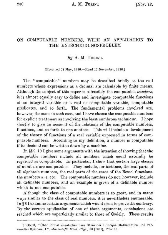 Alan Turing Code-Breaking