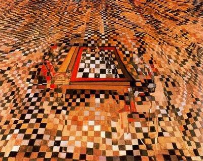 Vieira da Silva O jogo de xadrez 1943