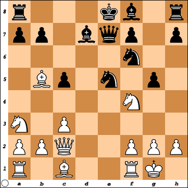 Vitorino Ramos vs. Chess Titans level max.=10 after 11. ..., g5