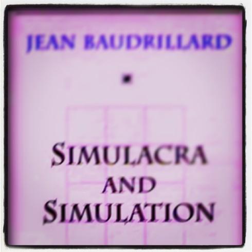 Baudrillard Simulacra and Simulation 1981 book