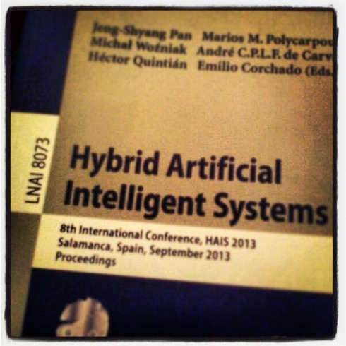 Hybrid Artificial Intelligent Systems HAIS 2013 (pp. 411-420 Second Order Swarm Intelligence)